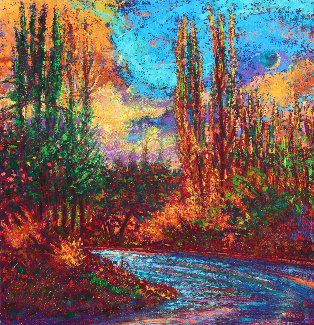 Evenings-Light-oil-on-canvas-30x32