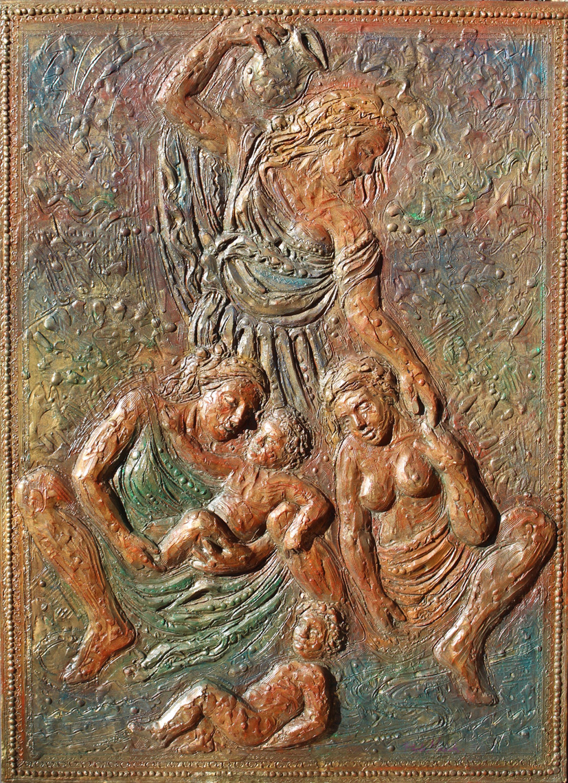 The-Blessing-Bas-Relief-24-x-36-